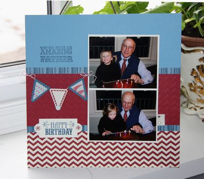 Father Scrapbook Page