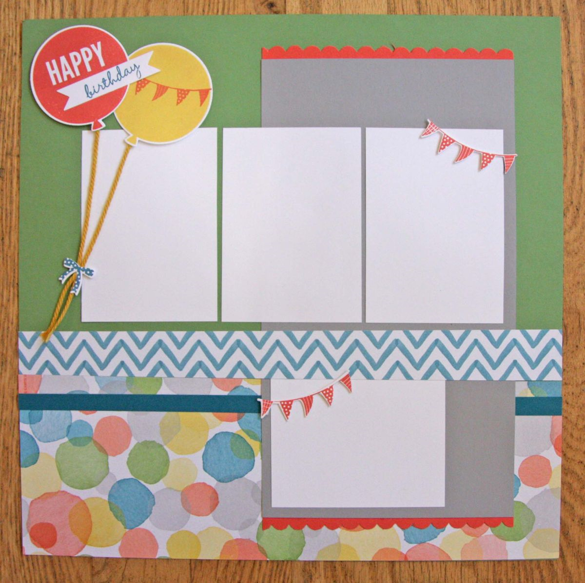 How to make scrapbook for birthday - Celebrate Today