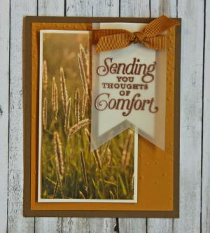 Suite Seasons Sympathy Card
